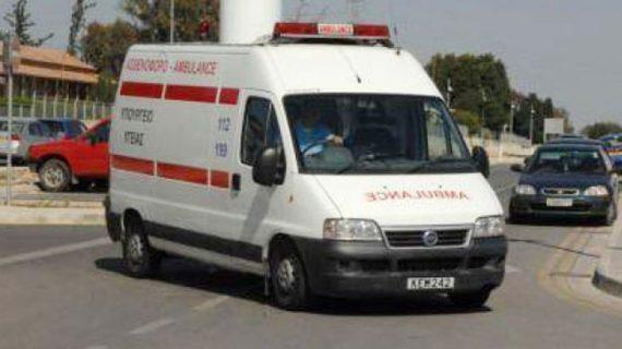 Κρίσιμος τραυματισμός γυναίκας σε τροχαίο στη Λεμεσό