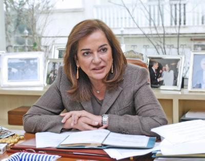 Η Ντόρα Μπακογιάννη υποψήφια για τη θέση του ΓΓ του Συμβουλίου της Ευρώπης