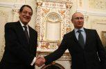 Αναστασιάδης: Σήμερα με Μεντβιέντεφ, αύριο με Πούτιν