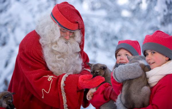 Παίξτε Santa Ski!