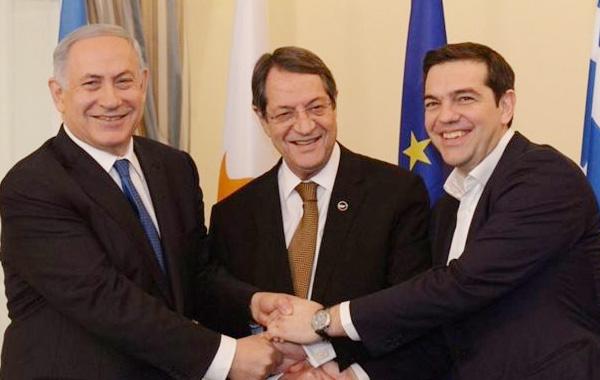 Με αμερικανική παρουσία η Τριμερής Κύπρου-Ελλάδας-Ισραήλ
