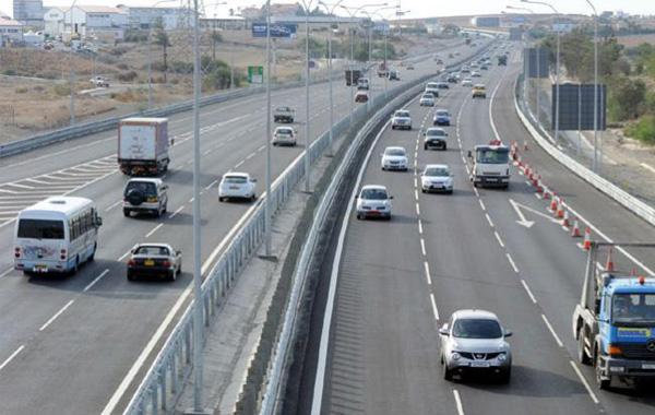 Ομαλά διεξάγεται η τροχαία κίνηση στον αυτοκινητόδρομο Λάρνακας – Λευκωσίας
