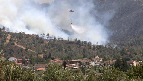 Κατασβέστηκε η πυρκαγιά στο Σινά Όρος