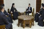 Ικανοποιημένος από την επίσκεψη του στη Συρία δηλώνει ο Αρχιεπίσκοπος