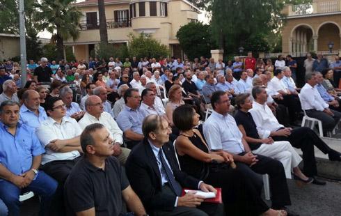 Ομιλία του Καθηγητή Βαγγέλη Κουφουδάκη στην κοινή αντικατοχική εκδήλωση των κομμάτων στην Κύπρο