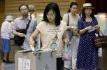 Στις κάλπες εν μέσω του τυφώνα Λαν οι Ιάπωνες