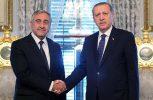 Συγχαρητήρια στον Ερντογάν για την επανεκλογή του από Ακιντζί