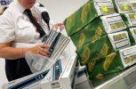 Κατασχέθηκαν 10.200 τσιγάρα στο αεροδρόμιο Λάρνακας