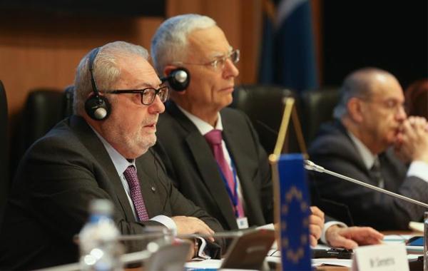 ο Πρόεδρος της Κοινοβουλευτικής Συνέλευσης του Συμβουλίου της Ευρώπης (ΚΣΣΕ) Pedro Agramunt