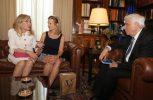 Η Κέρι Κένεντι έγινε δεκτή από τον Πρόεδρο Παυλόπουλο