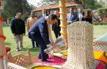 Ο Πρόεδρος της Δημοκρατίας απέτισε φόρο τιμής στον Μαχάτμα Γκάντι