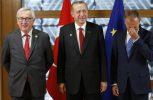 Oλοκληρώθηκε συνάντηση Ερντογάν – Τουσκ – Γιούνκερ