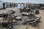 Πακιστάν: 146 νεκροί από πυρκαγιά σε βυτιοφόρο που μετέφερε πετρέλαιο
