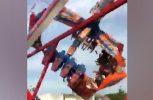 Στιγμές τρόμου σε λούνα παρκ του Οχάιο (video)