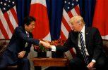 Τραμπ και Άμπε συμφώνησαν να αυξήσουν την πίεση στη Β. Κορέα