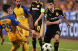 Ισόπαλος 1-1 ο αγώνας ΑΠΟΕΛ – Μπορούσια για την 3η αγωνιστική των ομίλων του Champions League