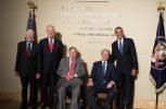 ΗΠΑ: 5 πρόεδροι μαζί για καλό σκοπό