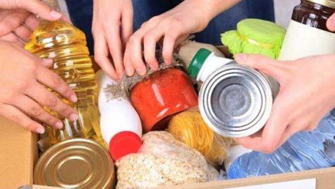 Συλλογή τροφίμων για άπορους μαθητές
