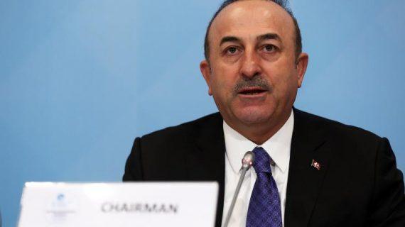 Τσαβούσογλου: Σημαντική για σταθερότητα η ζώνη ασφαλείας στη Συρία