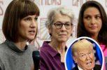Τρεις γυναίκες καταγγέλλουν τον Τραμπ για σεξουαλική παρενόχληση