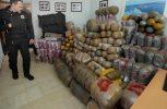 Εξαρθρώθηκε οργάνωση λαθρεμπόρων με 5 τόνους χασίς