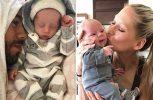 Τις πρώτες φωτογραφίες των μωρών τους δημοσίευσαν Κουρνίκοβα και Ιγκλέσιας