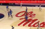 Έβλεπαν μπάσκετ και βγήκε μήνυμα πως δέχονται επίθεση από πυραύλους! (vid)