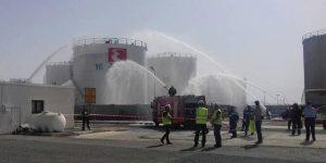Πυροσβεστική: Άσκηση σε πετρελαιοδεξαμενές
