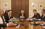 Αρνητικοί οι Έλληνες πολιτικοί αρχηγοί στη χρήση του όρου «Ίλιντεν» στην ονομασία της πΓΔΜ