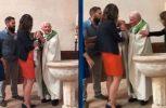 Γαλλία: Ιερέας χαστούκισε μωρό κατά τη διάρκεια βάφτισής του (video)
