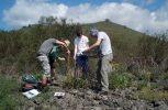 Γεωλογική μελέτη διεξάγουν φοιτητές του Λιβάνου στην Τραχυπέδουλα