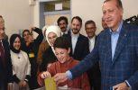 Ερντογάν: Στο 50% η συμμετοχή μέχρι στιγμής