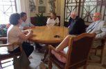 Ο Δήμαρχος Λευκωσίας συναντήθηκε με τον Rolf Wenzel