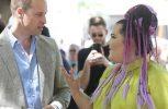 Ο πρίγκιπας Γουιλιαμ συνάντησε την νικήτρια της Eurovision Νέτα στο Ισραήλ