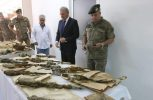 Παραδόθηκαν τα στρατιωτικά ευρήματα και ο εξοπλισμός του Νοράτλας