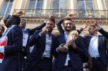 Μουντιάλ: Υποδοχή ηρώων στους Γάλλους παίκτες