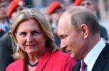 Ο Πούτιν θα φέρει ένα μουσικό γαμήλιο δώρο στον γάμο της ΥΠΕΞ Αυστρίας