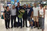 Με το αργυρό μετάλλιο στο στήθος επέστρεψε στην Κύπρο ο τοξοβόλος Χρήστος Μισός