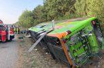Γερμανία: Πολλοί τραυματίες σε ανατροπή λεωφορείου