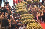 Κηδεύονται τα θύματα της κατάρρευσης της οδογέφυρας στη Γένοβα
