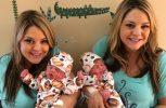 Δίδυμες αδερφές γέννησαν τους γιους τους την ίδια ημέρα και στο ίδιο νοσοκομείο