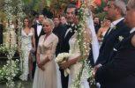 Παντρεύτηκαν Αντώνης Ρέμος – Υβόννη Μπόσνιακ με παρανυμφάκι την κόρη τους