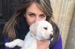 Η Ελίζαμπεθ Χάρλεϊ αποζημιώθηκε για τον τραυματισμό του σκύλου της