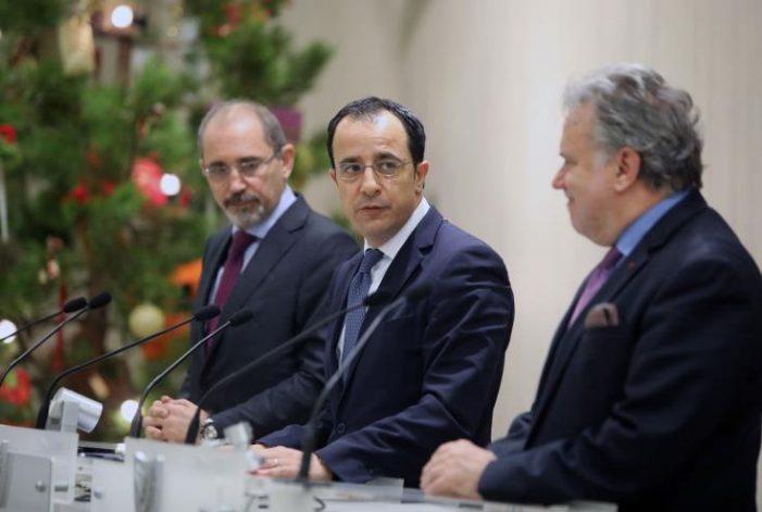 Κύπρος, Ελλάδα, Ιορδανία δεσμεύονται για διεύρυνση της συνεργασίας