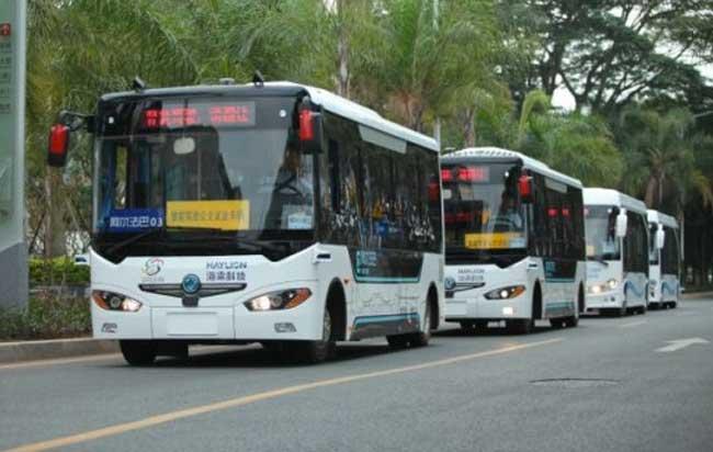 Κίνα: Τουριστικά λεωφορεία, εξοπλισμένα με τεχνολογία τεχνητής νοημοσύνης