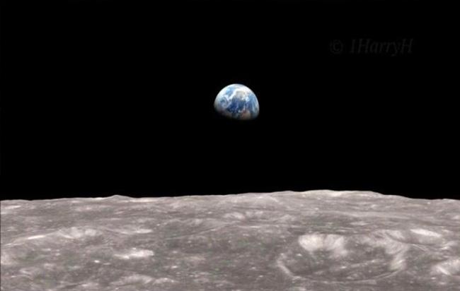«Η αυγή της Γης» πριν από 50 χρόνια: Η ιστορική φωτογραφία που ελήφθη απο το διάστημα