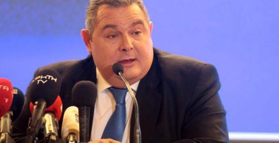 Καμμένος: Οι ΑΝΕΛ θα καταψηφίσουν την κυβέρνηση στη διαδικασία ψήφου εμπιστοσύνης