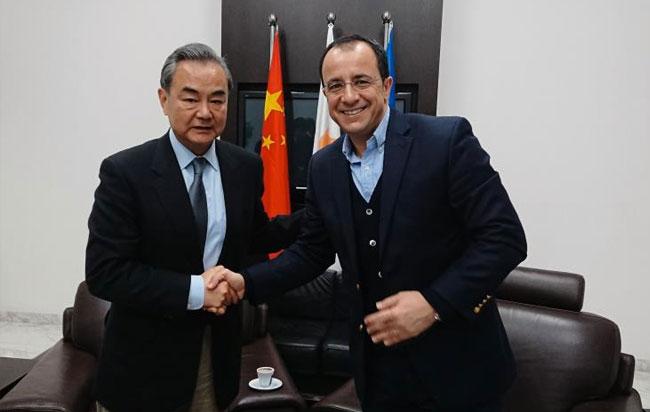 Κυπριακό, ΟΥΝΦΙΚΥΠ και διμερείς σχέσεις συζήτησε ο ΥΠΕΞ με τον Κινέζο ομόλογό του