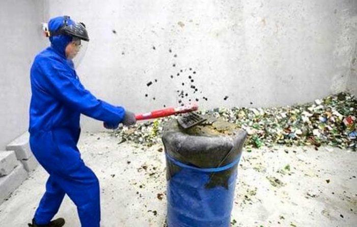Δωμάτιο Θυμού για 7 δολάρια το μισάωρο στο Πεκίνο