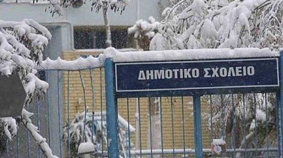 Στα λευκά όλη η Ελλάδα, χιόνισε στο κέντρο της Αθήνας